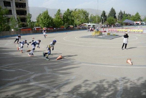 مسابقات اسکیت سرعت قهرمانی استان همدان برگزار گردید