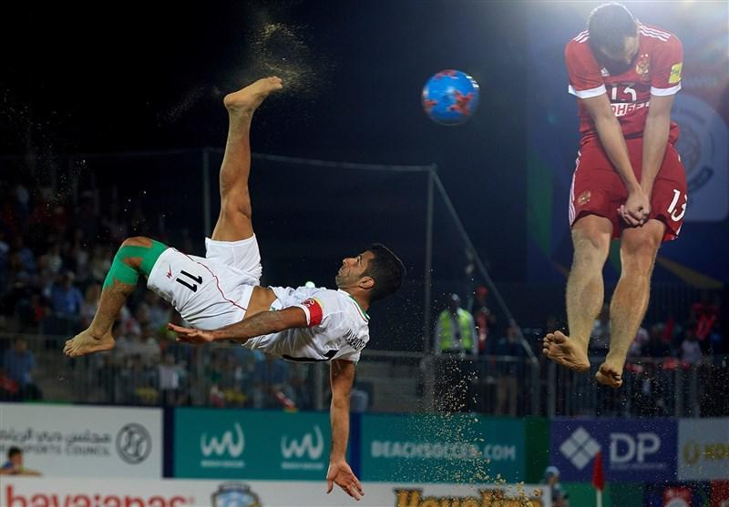 جام بین قاره ای فوتبال ساحلی، برتری ایران مقابل آمریکا در گام نخست