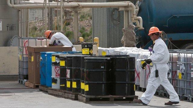 انفجار در تاسیسات پسماندِ غرب آمریکا قربانی گرفت