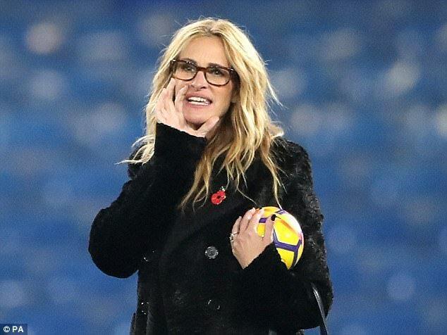 جولیا رابرتس 80 هزار پوند برای بلیت های جام جهانی قطر پرداخت