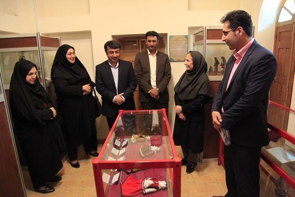 افتتاح نمایشگاه دائمی عروسک های محلی استان گلستان در ساختمان تاریخی امیرلطیفی گرگان