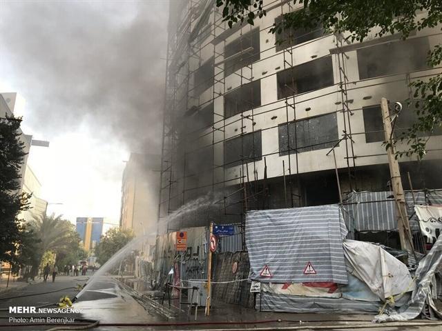 جابه جایی و اسکان بیش از 600 مسافر داخلی و خارجی پس از حادثه آتش سوزی هتل آسمان