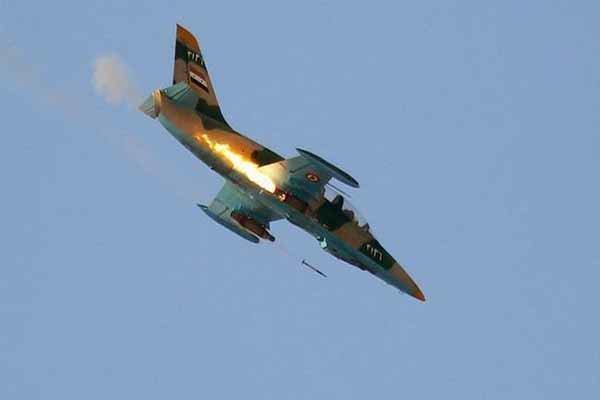 بمباران نیروهای مورد حمایت آنکارا در جنوب ادلب از سوی جنگنده سوری