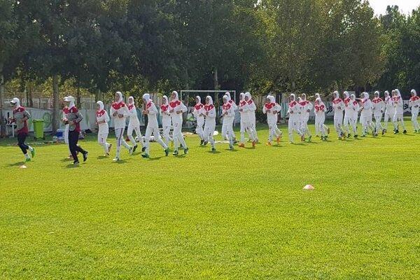 اسامی بازیکنان تیم فوتبال دختران ایران اعلام شد
