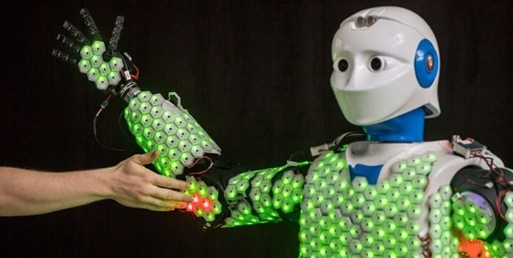 تولید نخستین ربات کاملا پوشیده با پوست مصنوعی