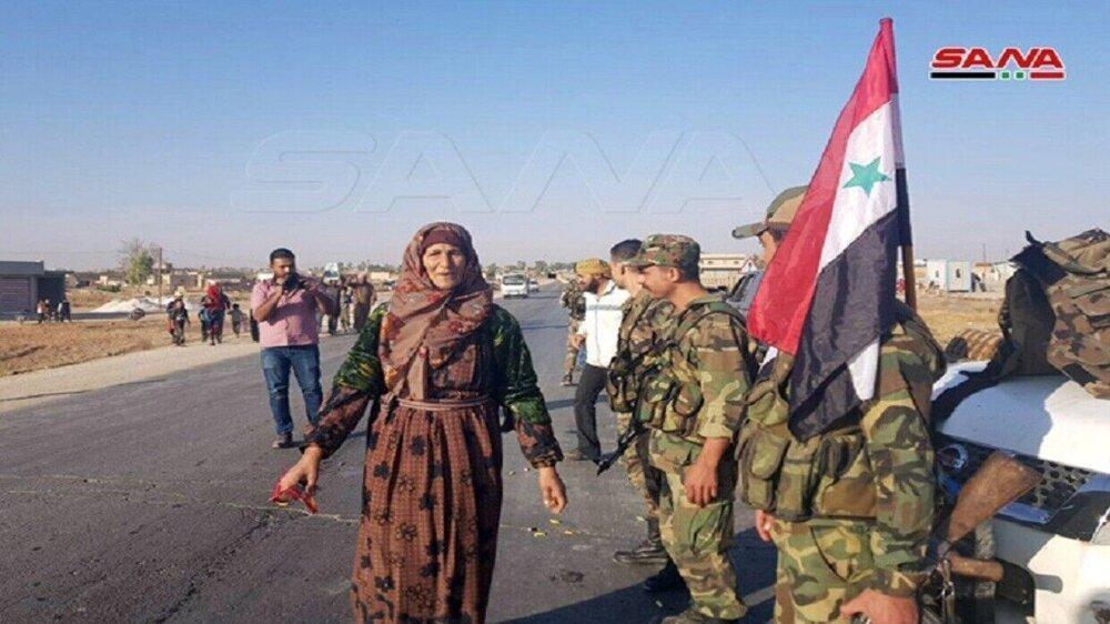 ارتش سوریه وارد حومه شمالی رقه شد