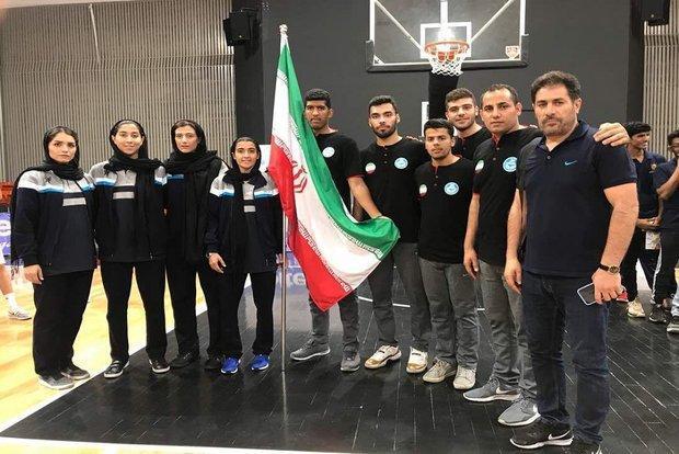 دو برد و یک باخت برای نمایندگان بسکتبال ایران