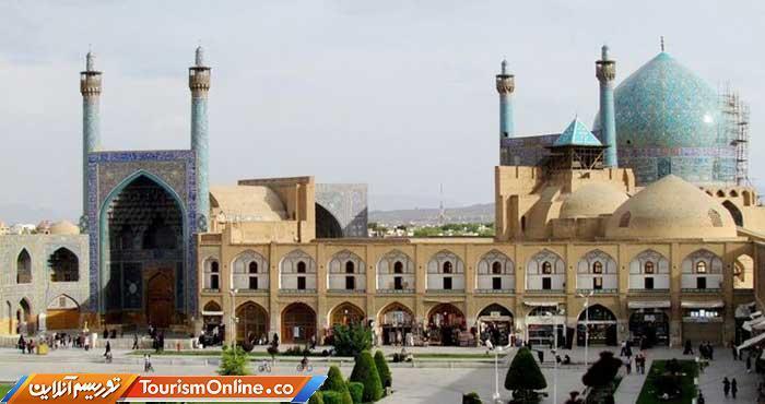 کشف آبراهه های صفوی در مسجد امام اصفهان