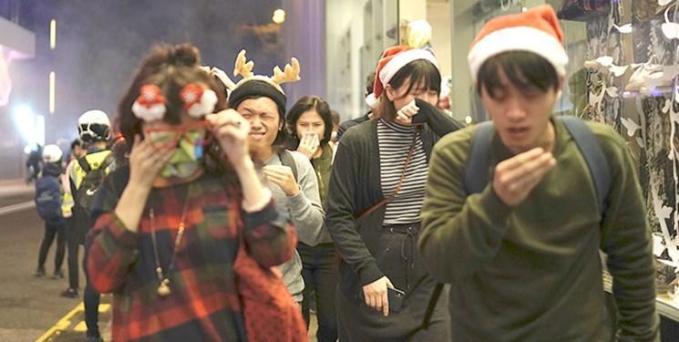 شروع مجدد درگیری های هنگ کنگ در آستانه کریسمس