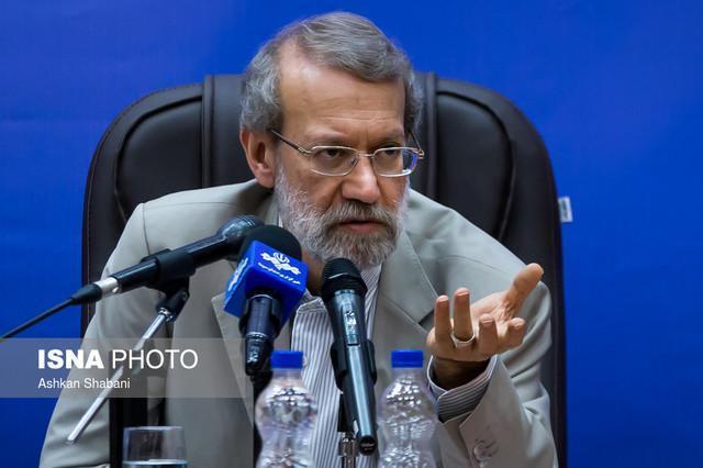 لاریجانی: فعالیت های تروریستی منطقه با دخالت های نظامی آمریکایی شروع شده است