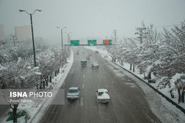 آخرین شرایط جاده ها در خاتمه تعطیلات آلودگی هوا، هراز و چالوس برفی