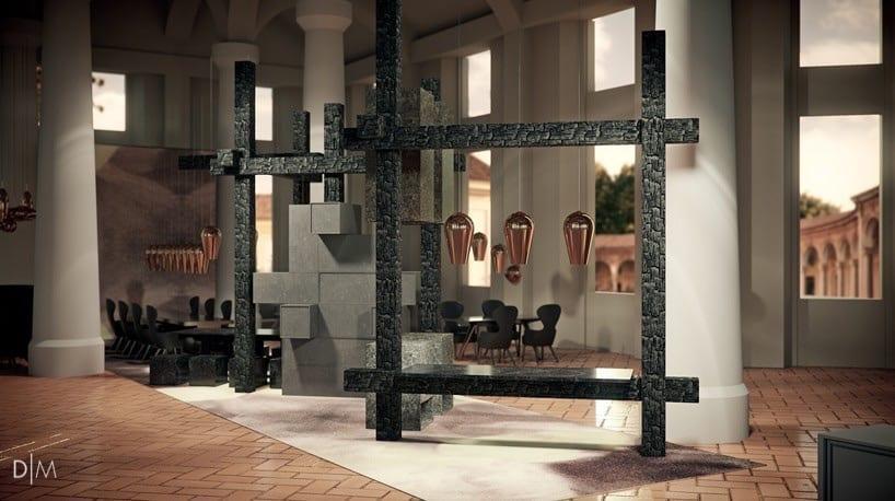 تام دیکسون و طراحی رستوران با الهام از چهار عنصر سازنده طبیعت