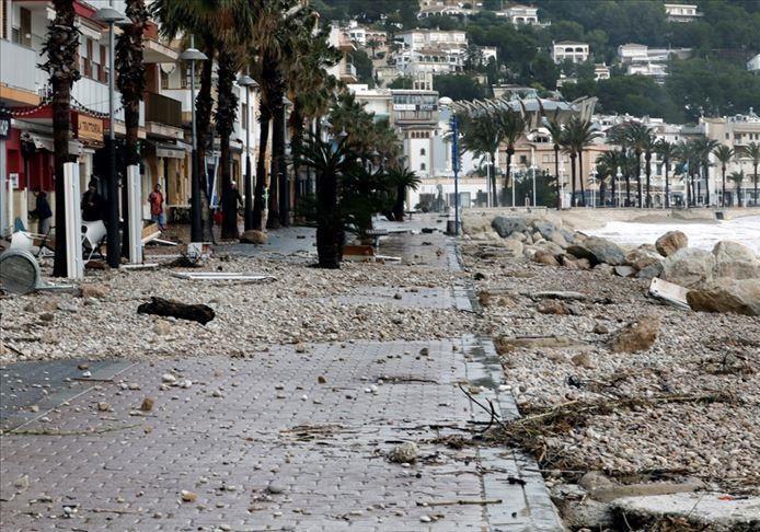 قربانیان طوفان گلوریا در اسپانیا به 11 نفر افزایش یافت