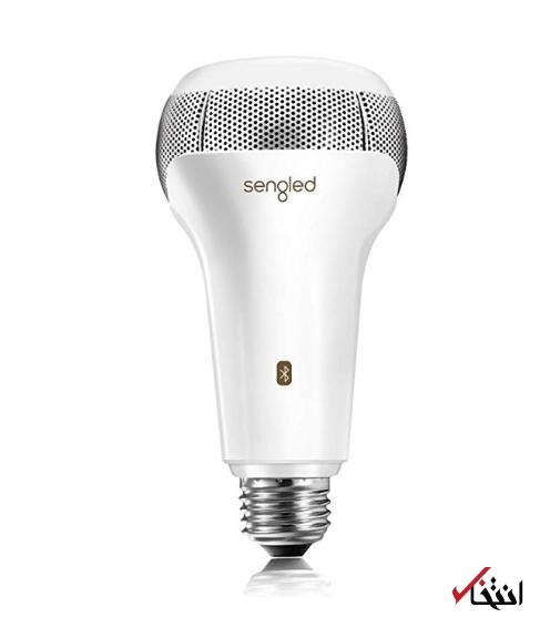 با این لامپ هوشمند همزمان نور و موسیقی منتشر کنید