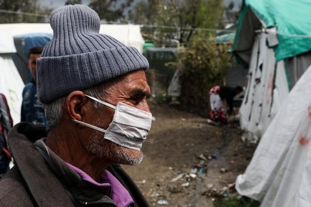 خبرنگاران قرنطینه پناهجویان در یونان از بیم شیوع کرونا