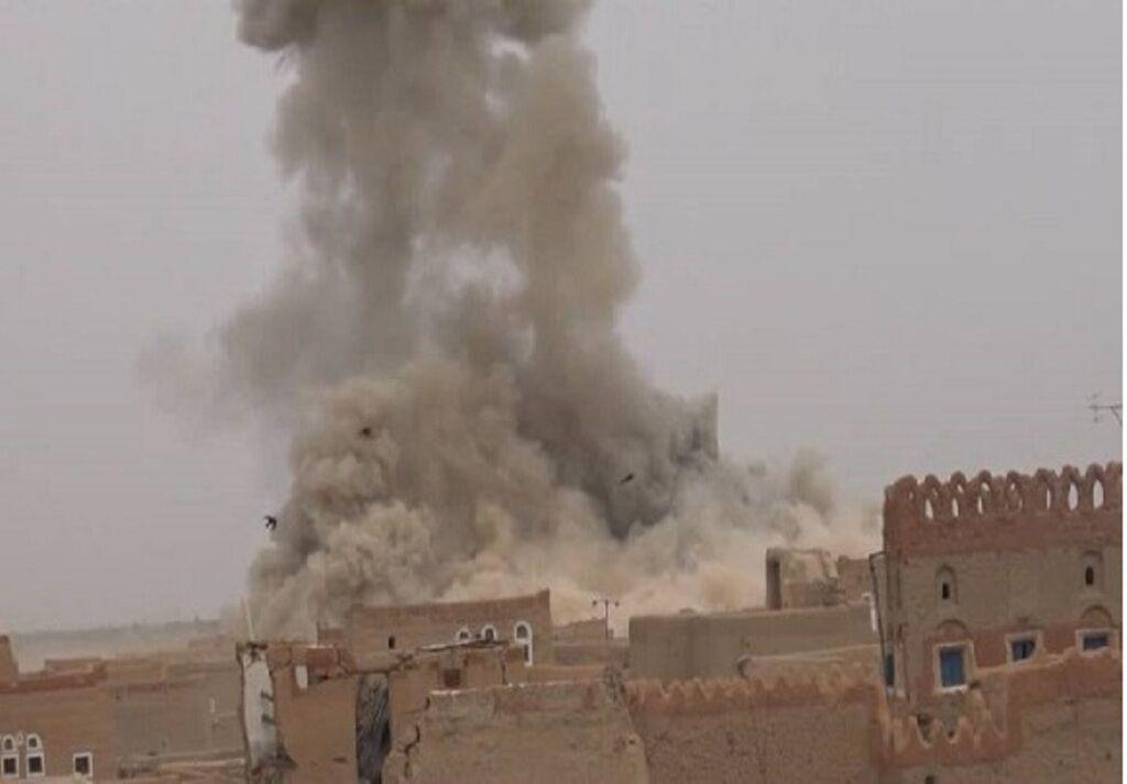 خبرنگاران ائتلاف سعودی با بمباران یمن آتش بس را نقض کرد