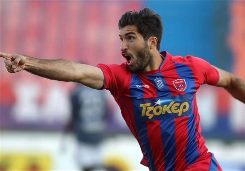 گل انصاری فرد زیباترین گل فصل لیگ یونان شد