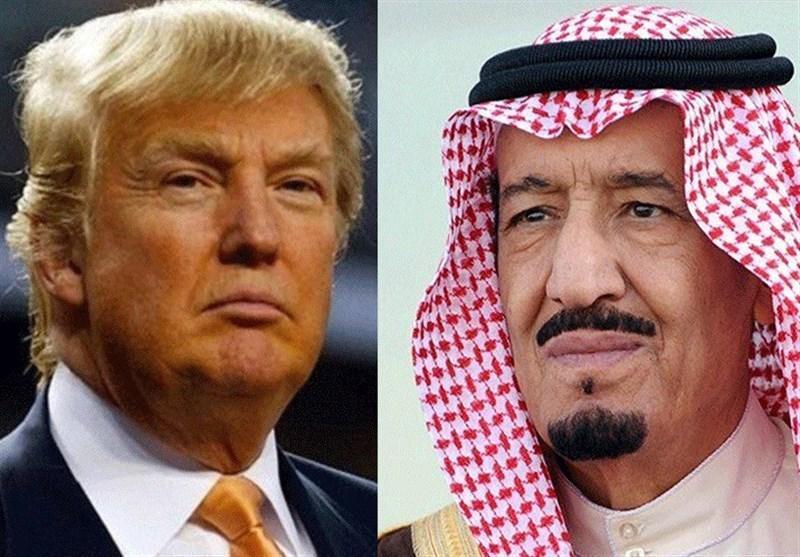 گفت و گوی ترامپ و ملک سلمان درباره بازار جهانی نفت و تحولات یمن