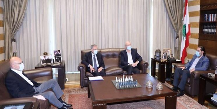 دیدار و دورهمی نخست وزیران سابق لبنان بدون نخست وزیر فعلی