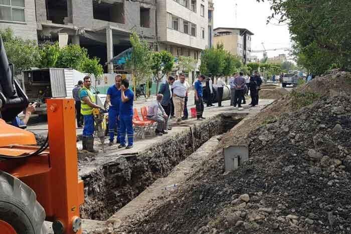 حفره بزرگ زیر خیابان گلبـرگ چگونه مهار شد؟