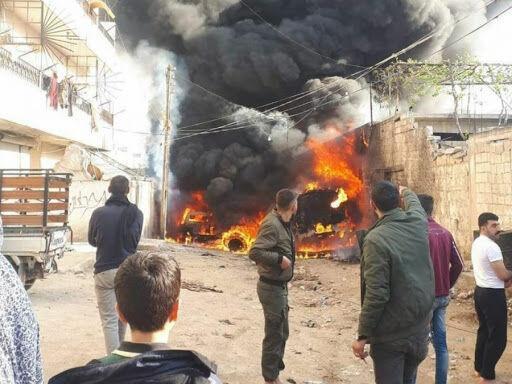 خبرنگاران انفجار در بغداد شش کشته یا زخمی بر جا گذاشت