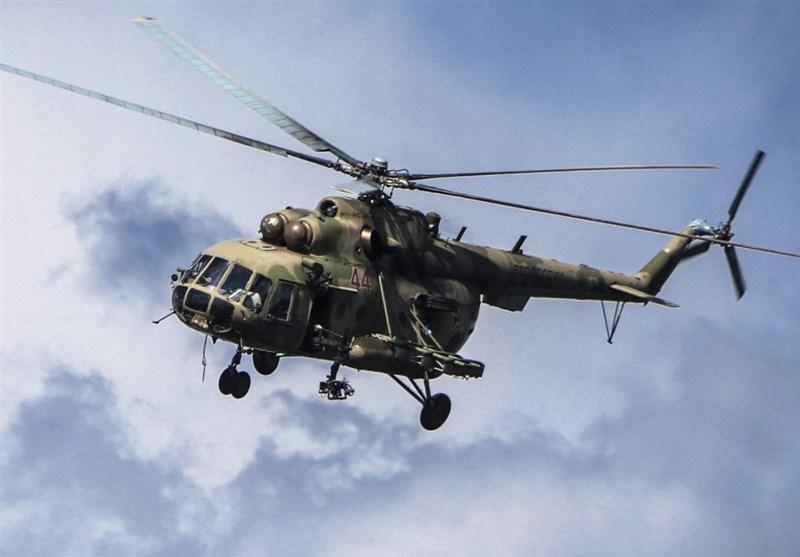سقوط بالگرد نیروی هوایی روسیه در نزدیکی مسکو