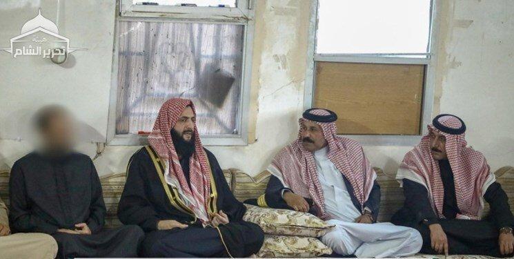 ظاهر شدن الجولانی در ادلب و ملاقات با شیوخ قبائل، عکس