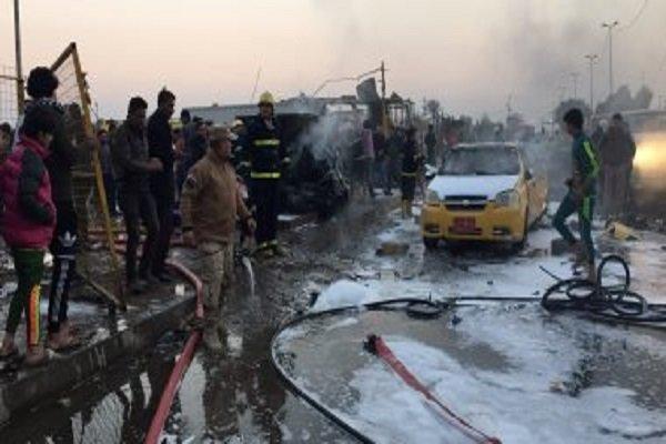 وقوع انفجار در شهر بیجی عراق، شهادت 4 نیروی حشد شعبی