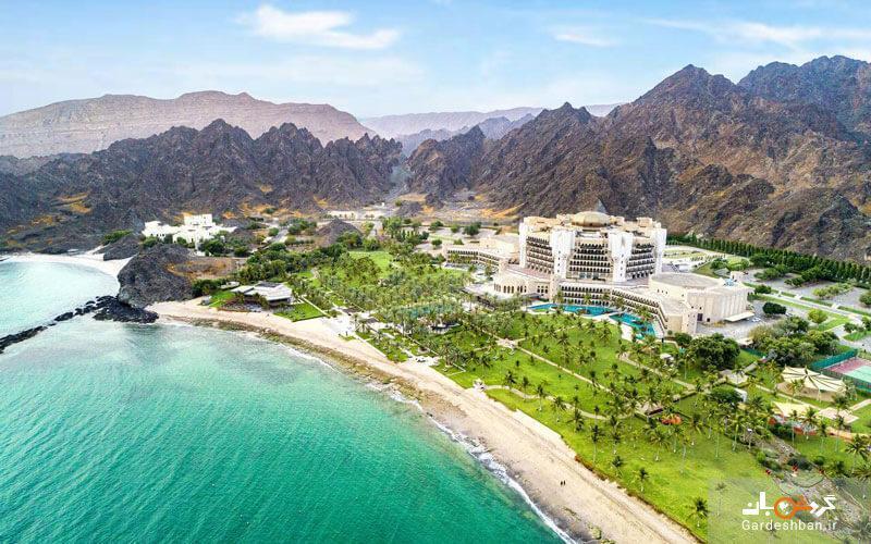 هتل ال بوستان پالاس، ای ریتز کارلتون؛ از لوکس ترین اقامتگاه های مسقط