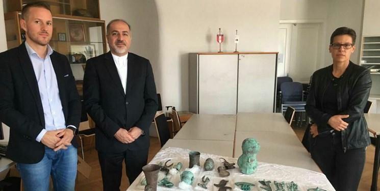 اشیاء باستانی ایران از اتریش به کشور بازگردانده می شود