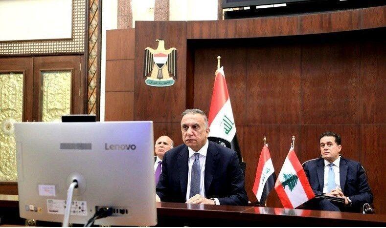 خبرنگاران نخست وزیر عراق: با وجود مسائل، در یاری به مردم لبنان پیشقدم بودیم