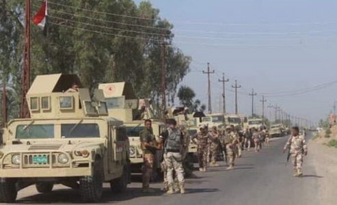 ارسال تسلیحات سنگین و نیرو های پشتیبان عراق به مرز با ترکیه