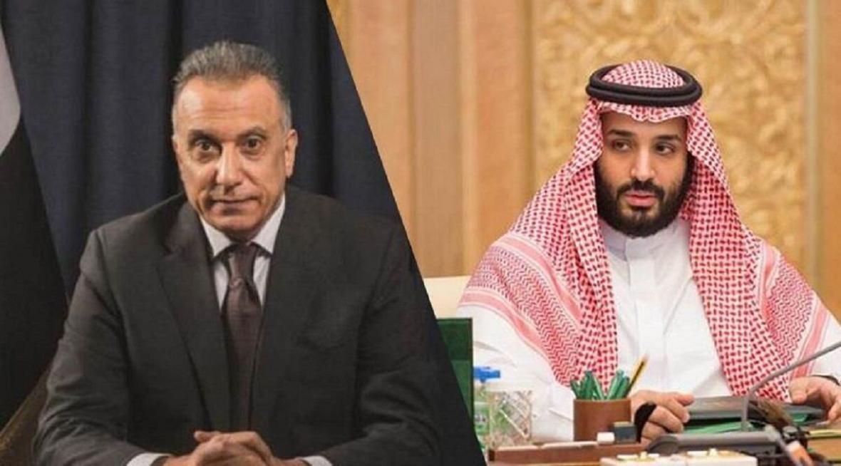 خبرنگاران ولیعهد سعودی با نخست وزیر عراق تلفنی گفت و گو کرد