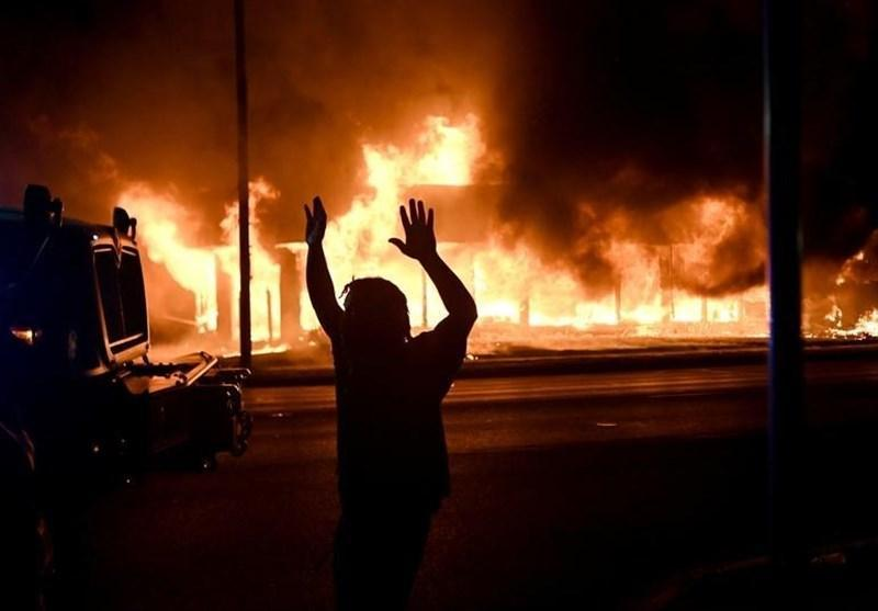 ویسکانسین در آتش نژادپرستی پلیس آمریکا می سوزد