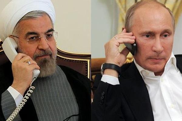 روحانی در مصاحبه با پوتین از آتش بس در قره باغ حمایت کرد