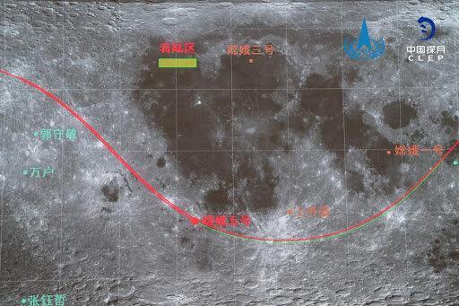 کاوشگر چینیها مانور مداری را انجام داد