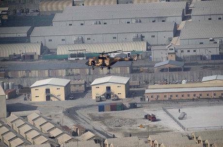 حمله راکتی به فرودگاه نظامی بگرام افغانستان