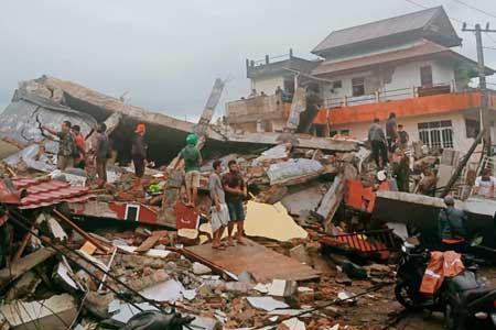 34 کشته در پی وقوع زلزله در اندونزی