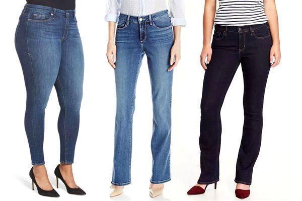 بهترین مدل شلوار جین زنانه برای اندام های مختلف کدام است؟