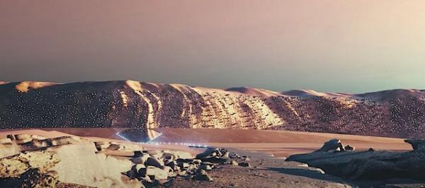 طراحی پنج سکونتگاه انسانی در مریخ