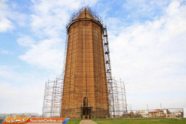 ایمن سازی کارگاه بازسازی میراث جهانی گنبد قابوس