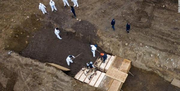 جانز هاپکینز: تلفات کرونا در آمریکا به 583 هزار نفر رسید