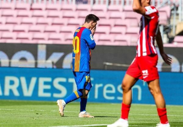لالیگا، فرصت سوزی بارسلونا و اتلتیکومادرید با تساوی در نوکمپ، رئال مادرید برنده اصلی نبرد صدرنشینان