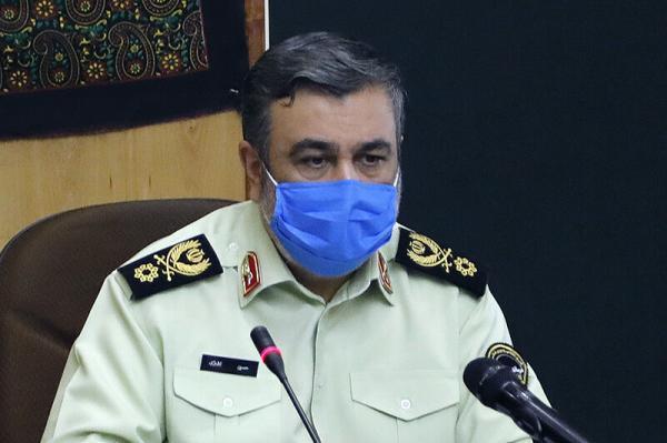تقدیر فرمانده ناجا از زحمات کارکنان در تأمین امنیت شب های قدر