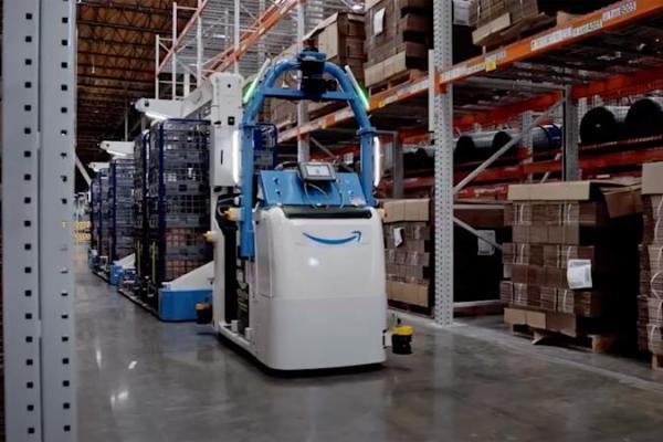 ربات های جدید آمازون برای انبار ها