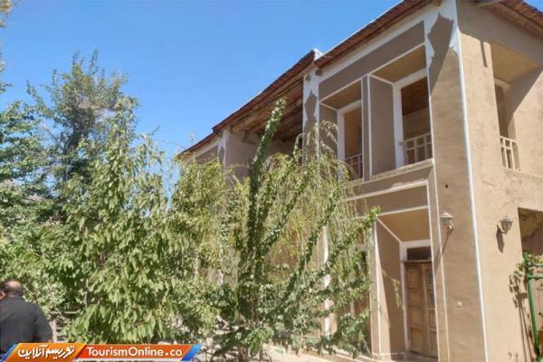 نقشه کشی ویلا: خاتمه بازسازی باغ تاریخی حافظی در شهرستان تفت